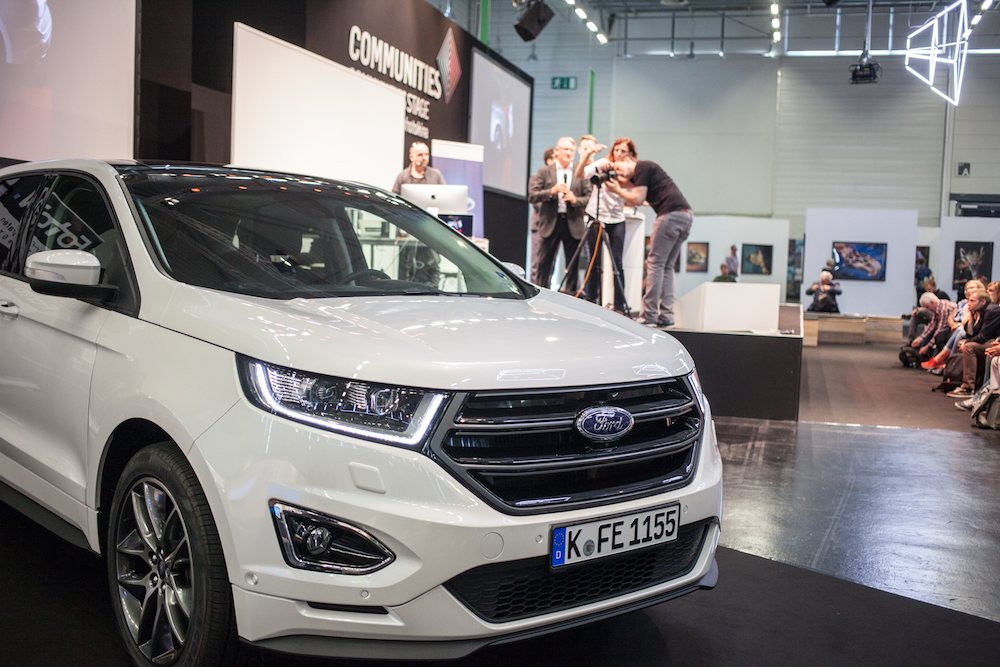 die photokina teamchallenge mit dem neuen ford edge. Black Bedroom Furniture Sets. Home Design Ideas
